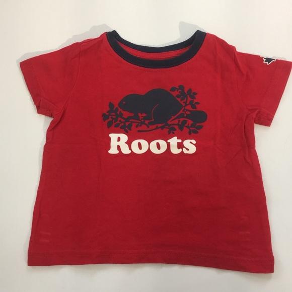 Roots toddler boy tee shirt